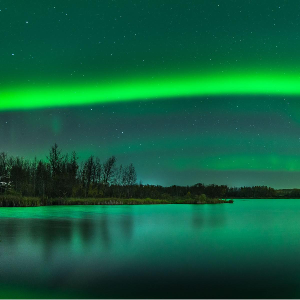 el espectáculo de luces más espectacular de la madre naturaleza