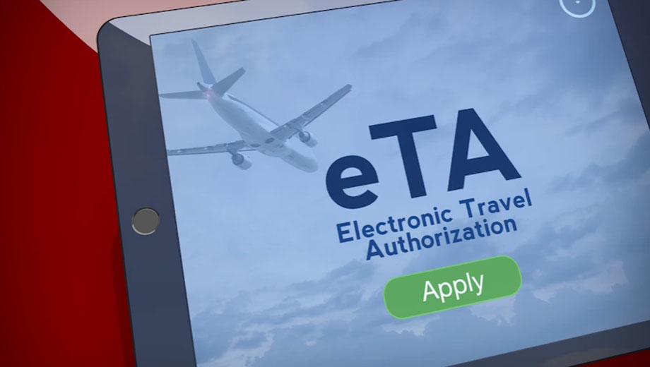 Qué es la Autorización Electrónica de Viaje (eTA, por su sigla en inglés)