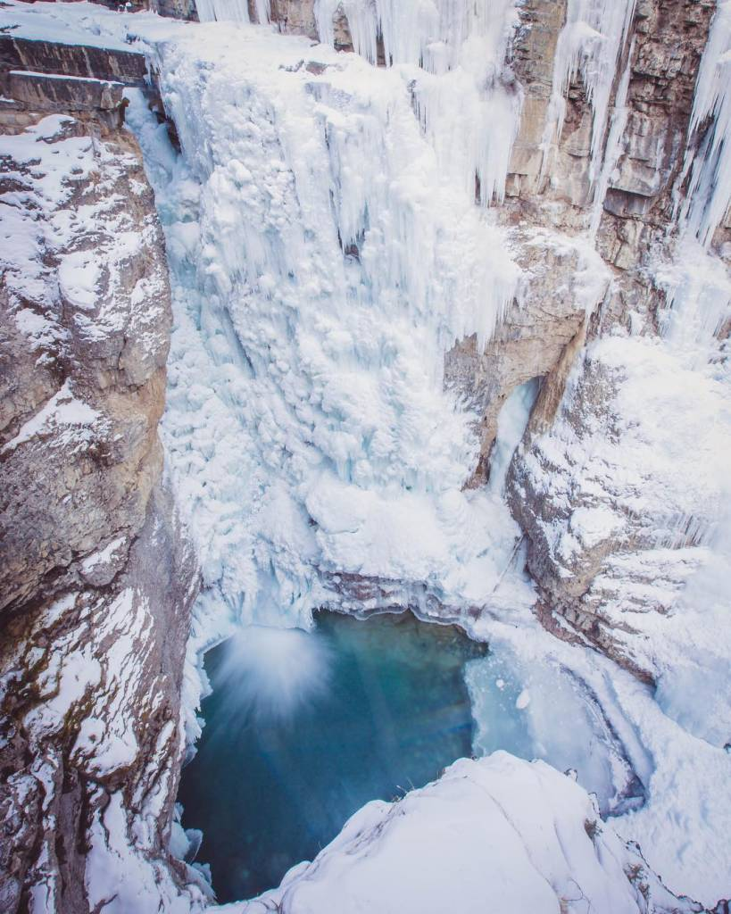 Johnston Canyon   Alberta, Canadá