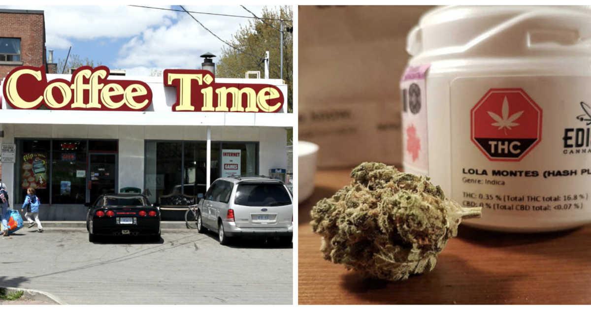 Coffee Time planea convertir 10 cafés en Ontario en tiendas de marihuana